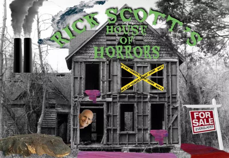 Rick Scott's House of Horrors Sierra Club