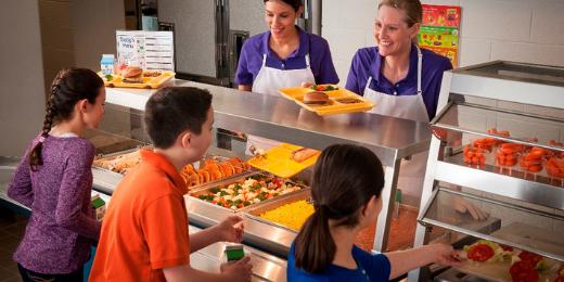 federal national school lunch program