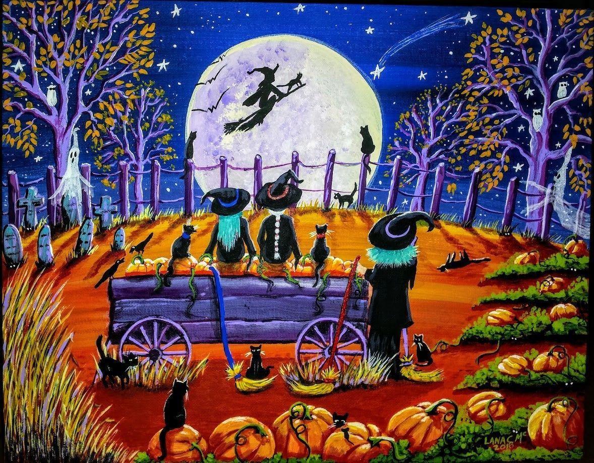 halloween folk art2