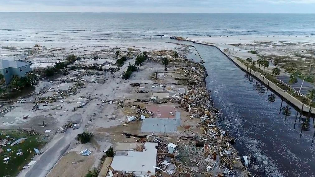 Hurricane Michael, USA - 11 Oct 2018