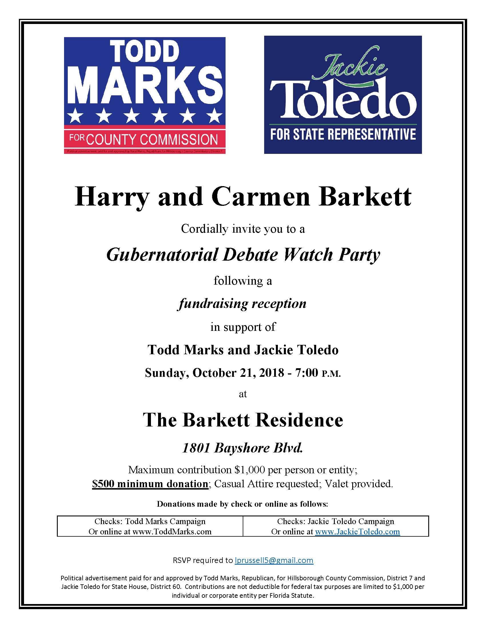 marks, todd - fundraiser