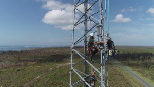 Mexico Beach Antenna Install