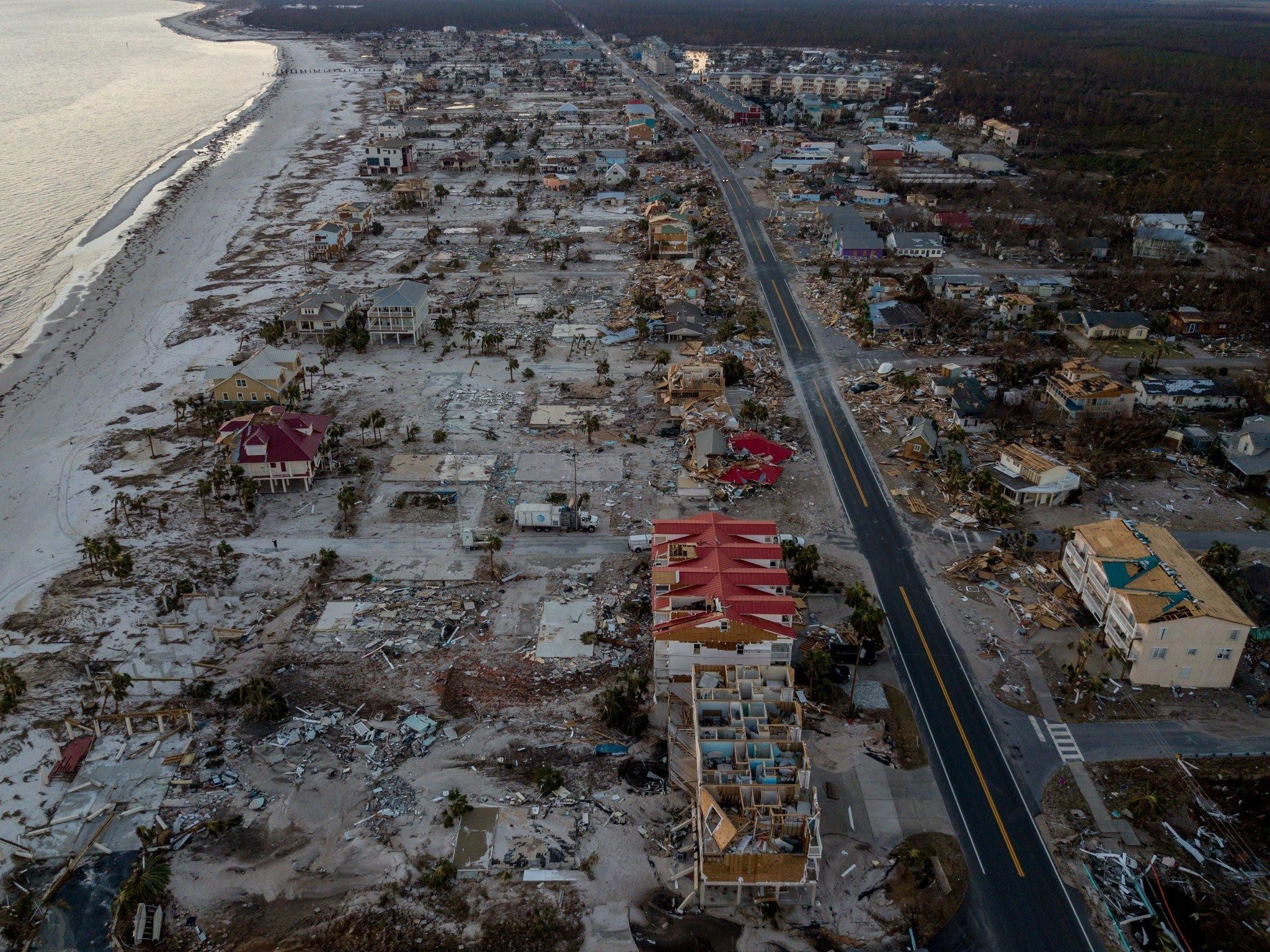 hurricane Michael devastation