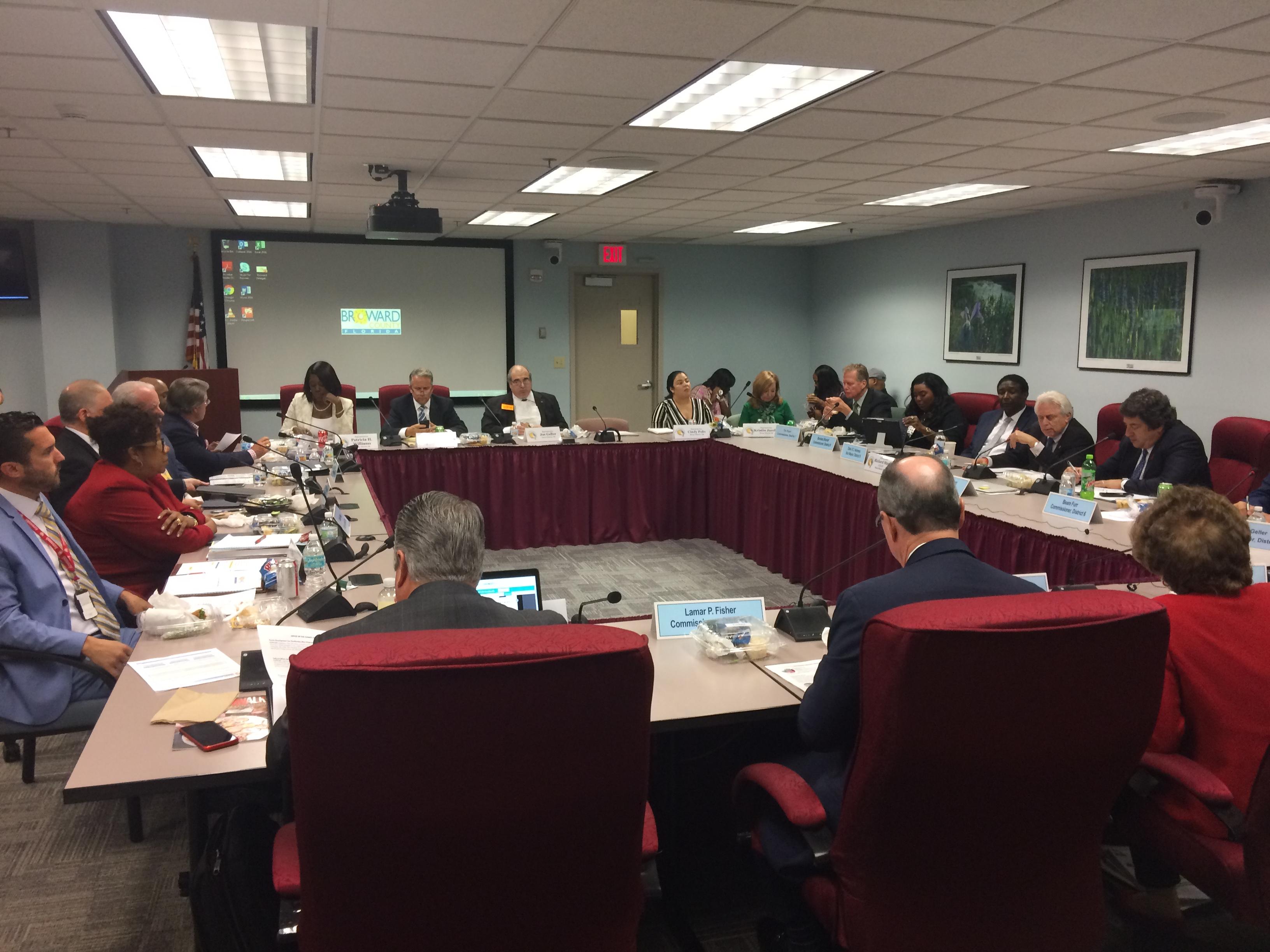 Broward delegation County Commission