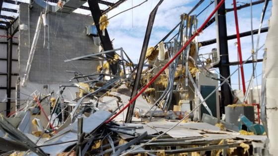 Bay Correctional Facility -- Hurricane Michael Damage