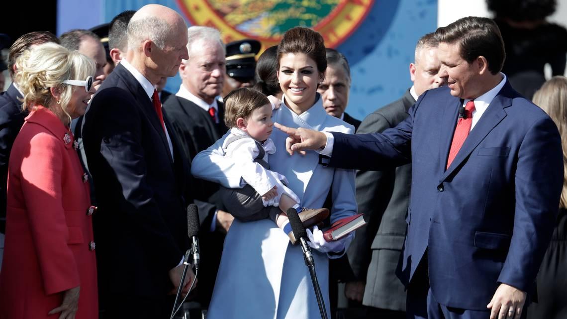 DeSantis family -- AP Photo