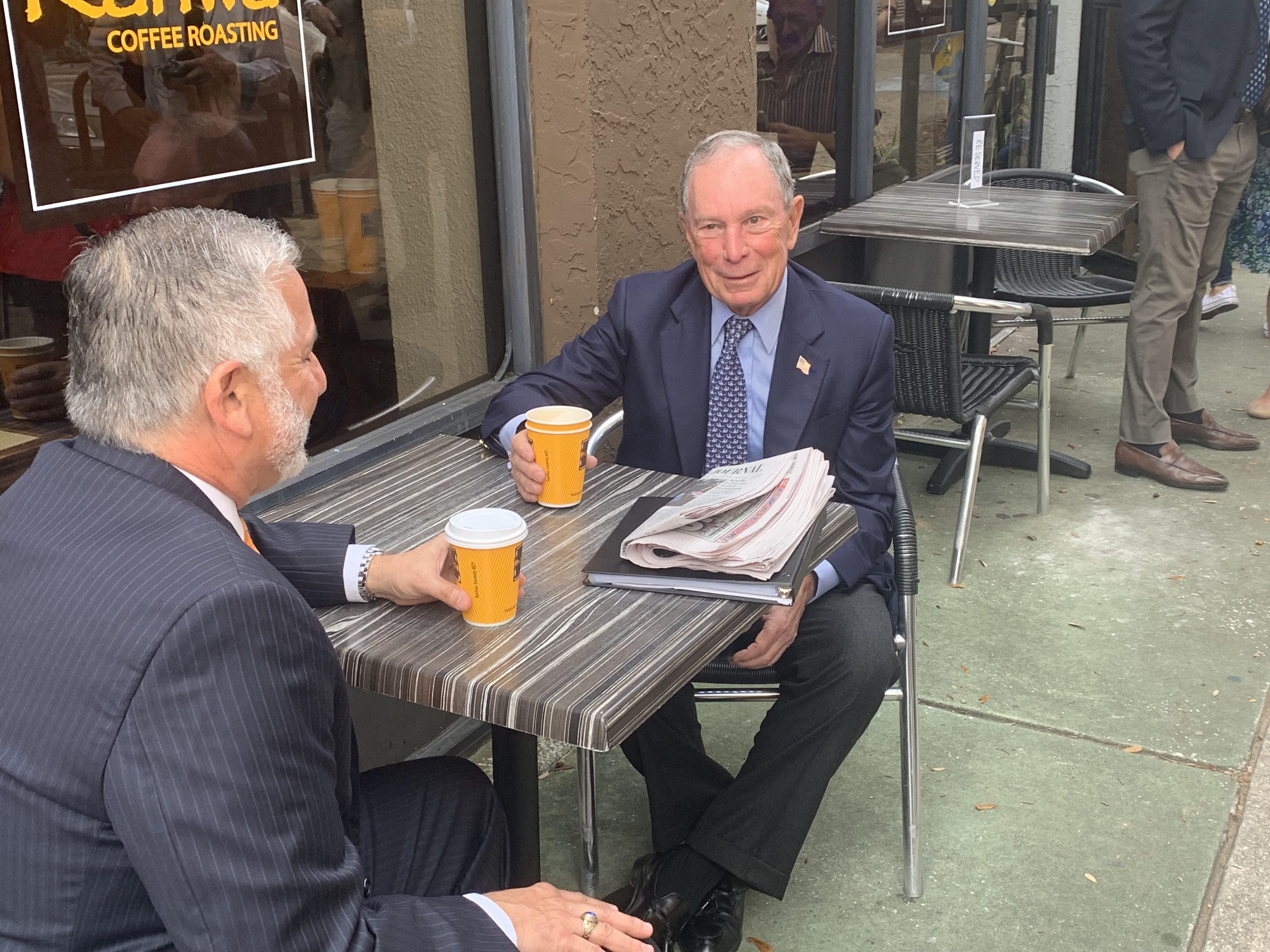 Michael Bloomberg Kriseman