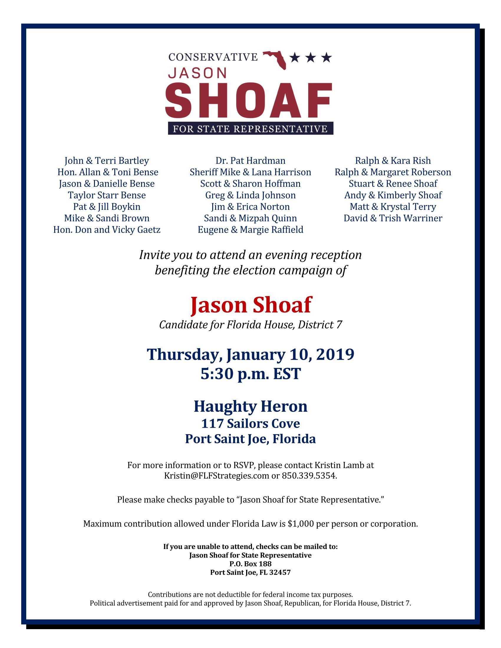 Jason Shoaf Fundraiser