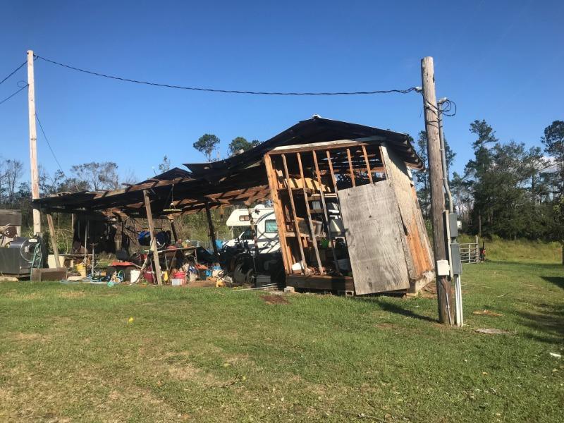 hurricane Michael damage proposals