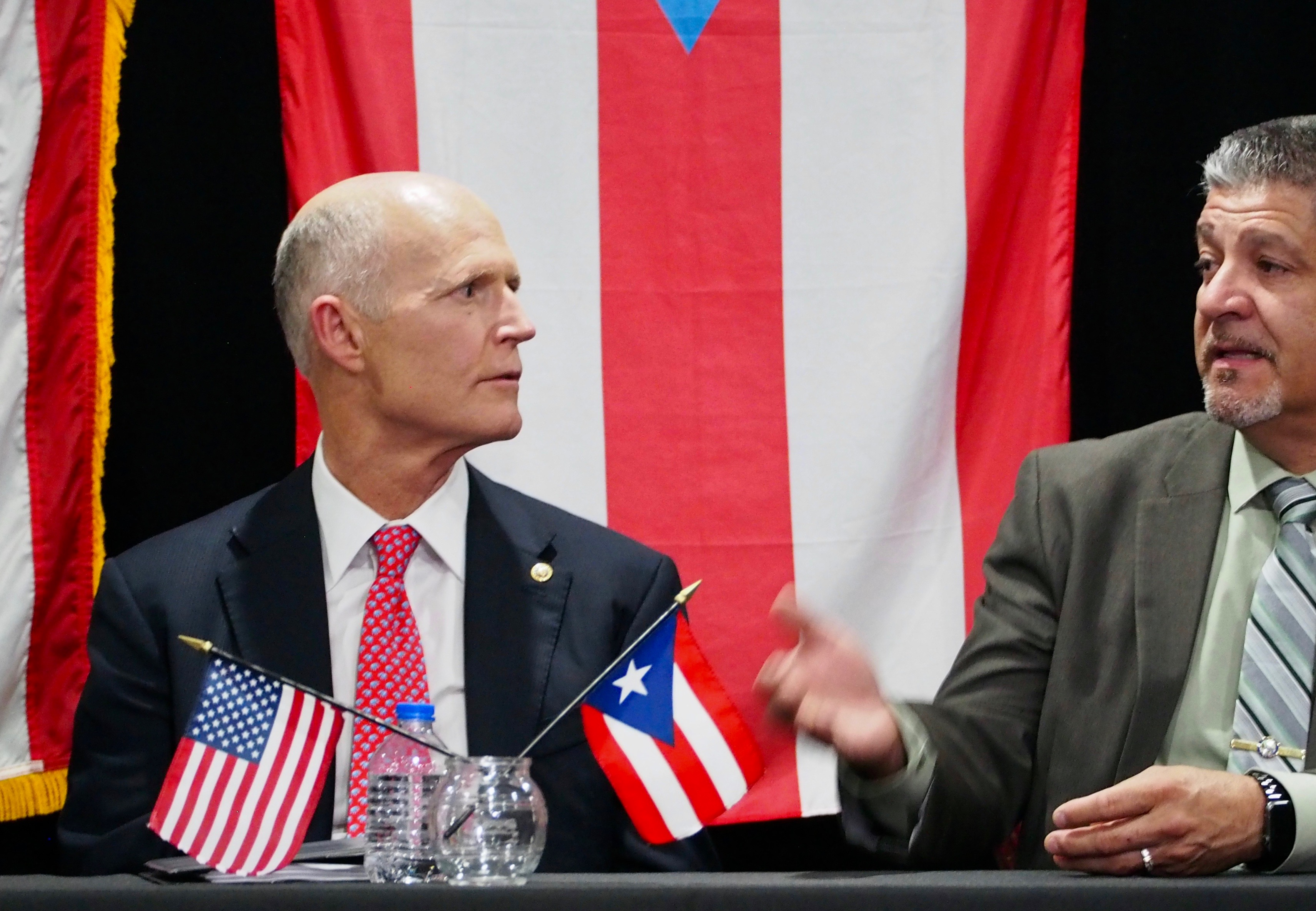 Rick Scott and Bob Cortes