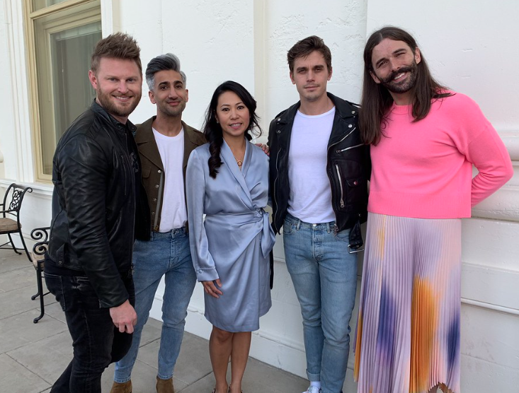 Stephanie Murphy and cast of Queer Eye