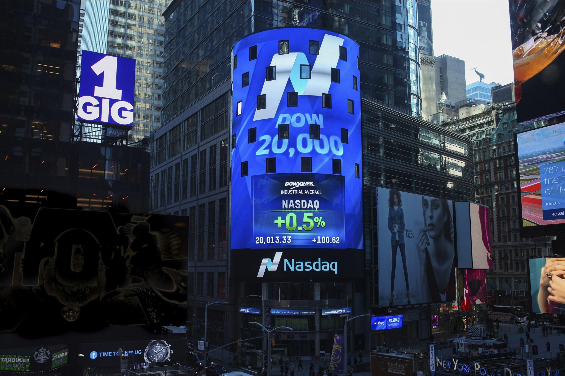 NASDAQ - AP Photo