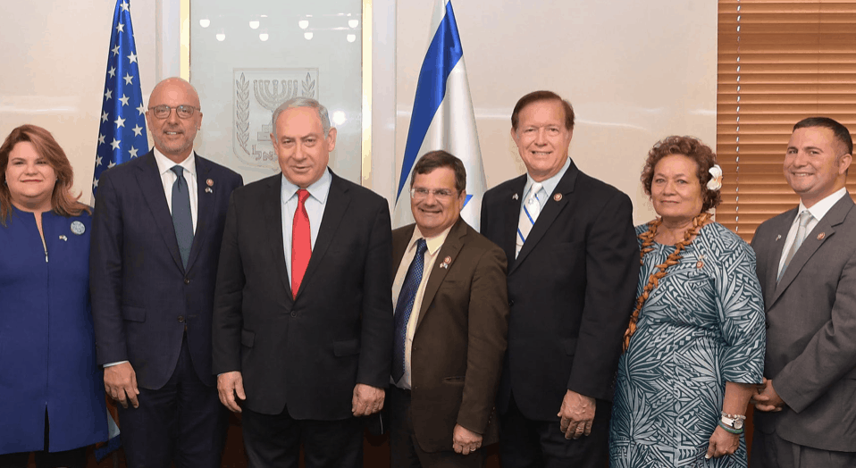 Ted Deutch, Darren Soto, other members of Congress, Benjamin Netanyahu