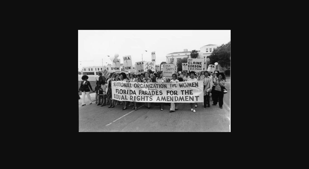 Equal Rights Amendment march in Florida