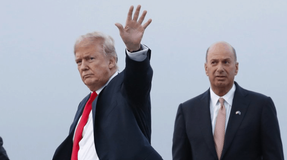 Donald Trump and Gordon Sondland
