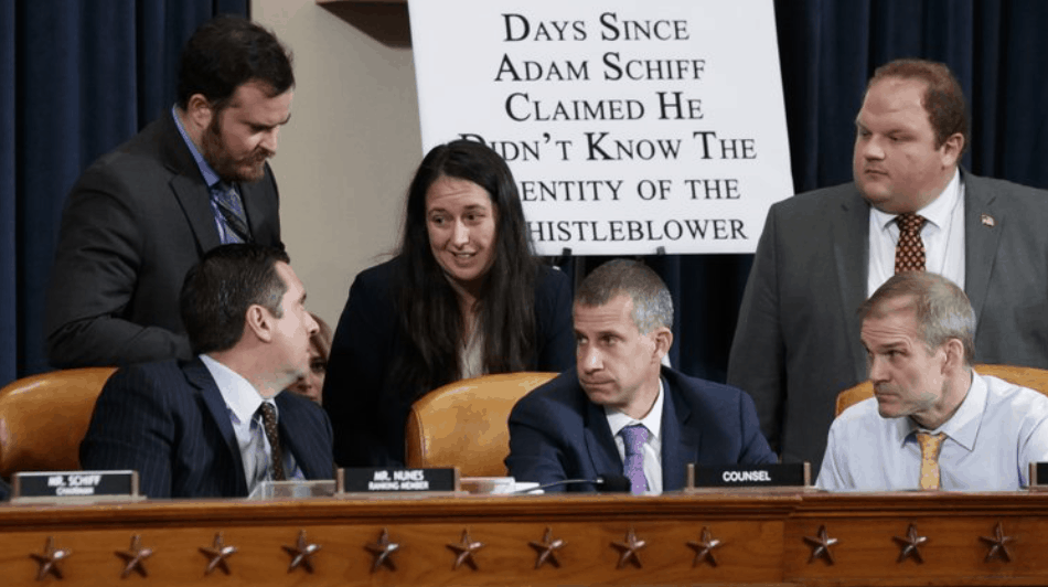 Devin Nunes and other Republicans on House Intelligence Committee