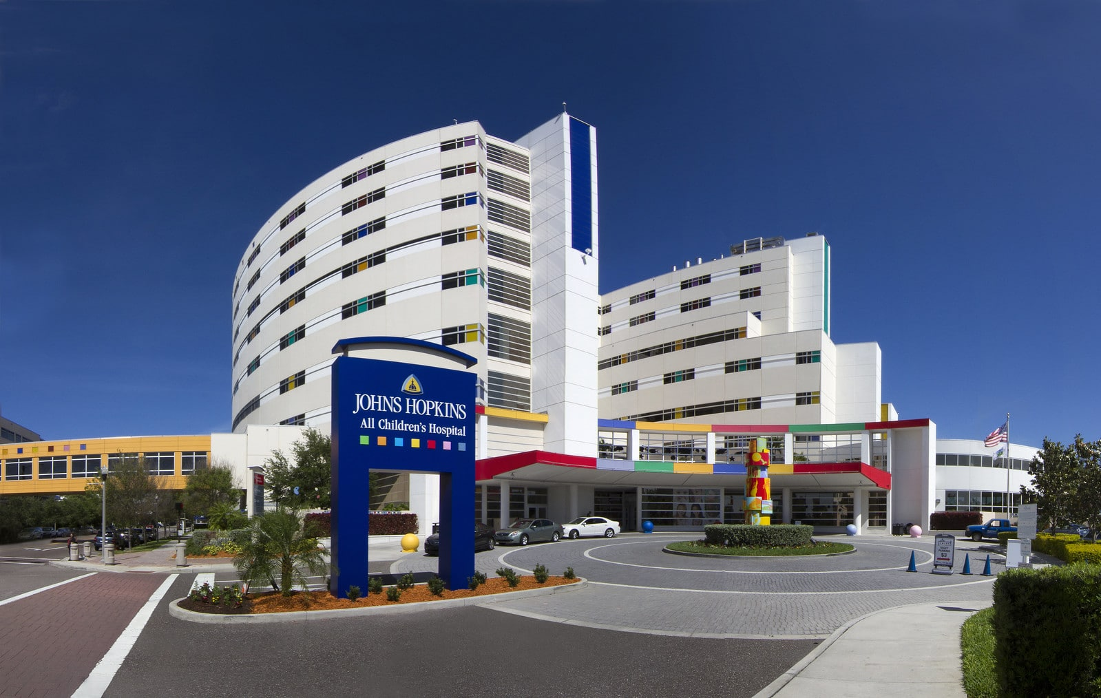 NEW Johns Hopkins All Children's Hospital