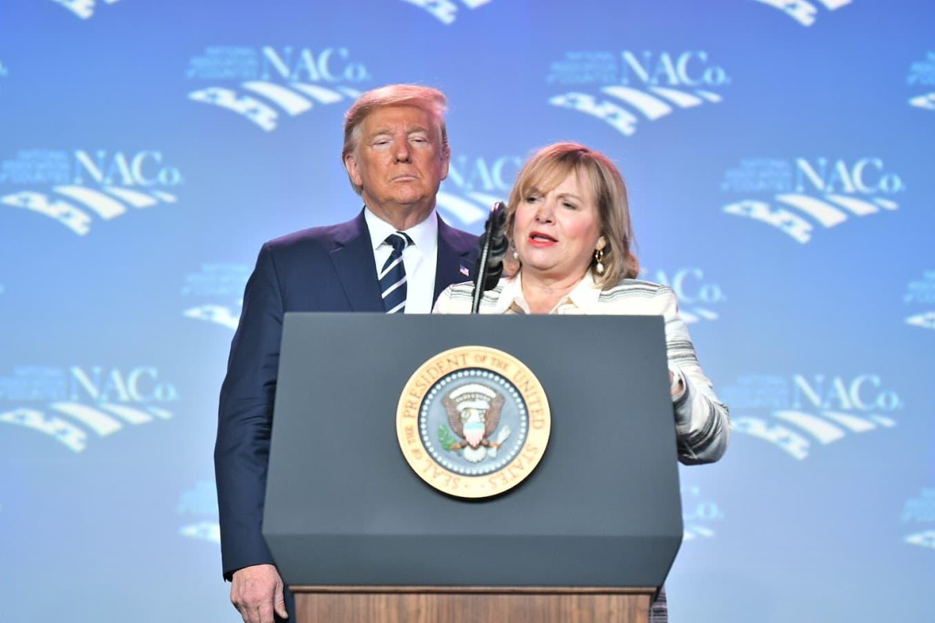 Commissioner-Kathryn-Starkey-and-President-Donald-Trump.jpg