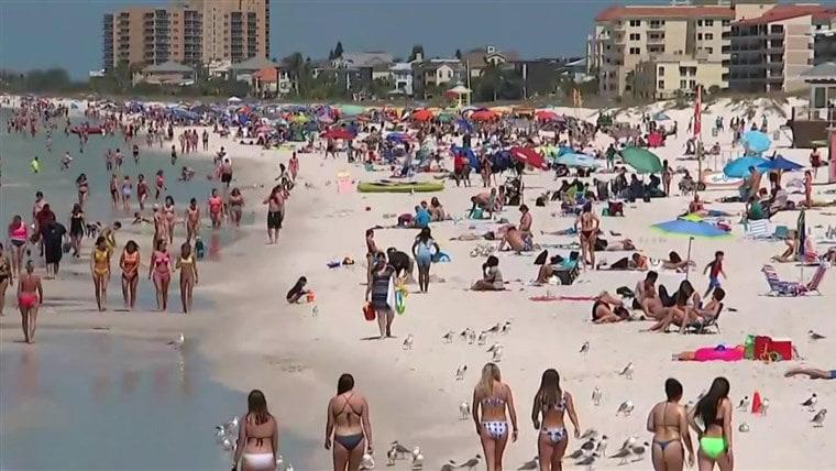 Florida beaches coronavirus