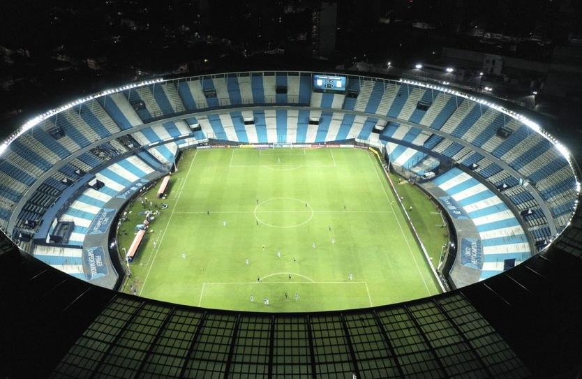 Stadium in Argentina.
