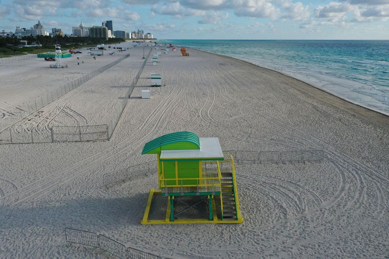 coronavirus - miami beach