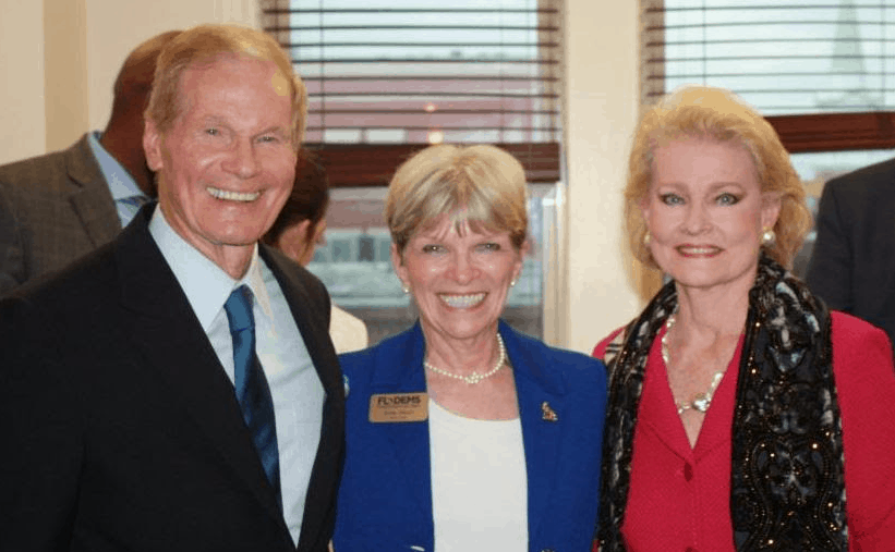 Bill Nelson, Terrie Rizzo, and Grace Nelson