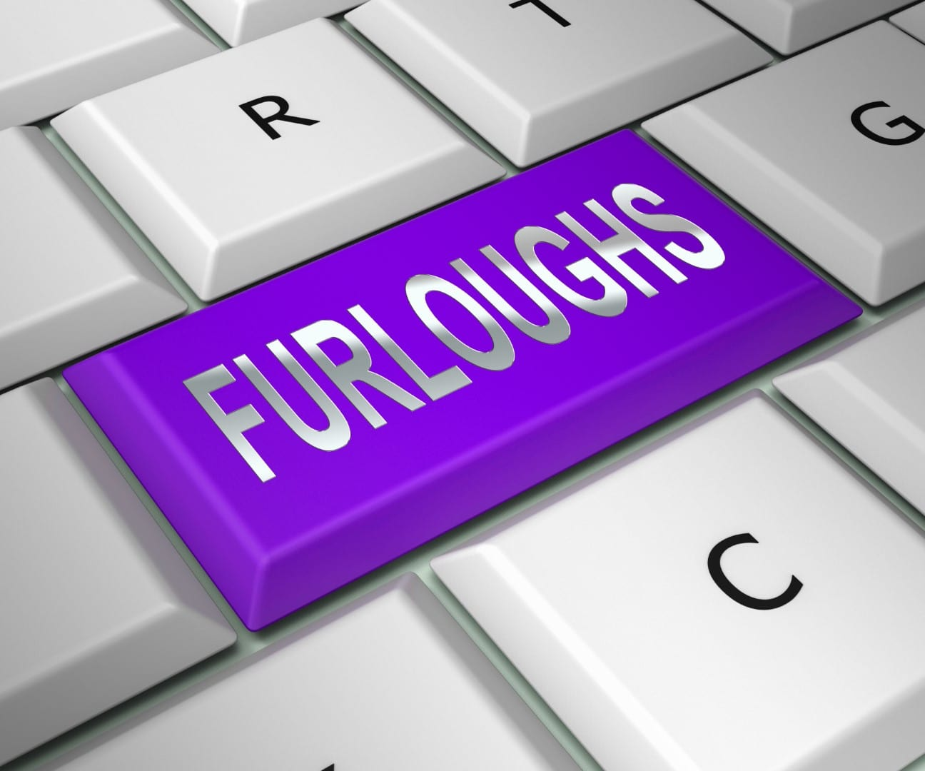 Furloughed Or Redundant Employees Sent Home - 3d Illustration