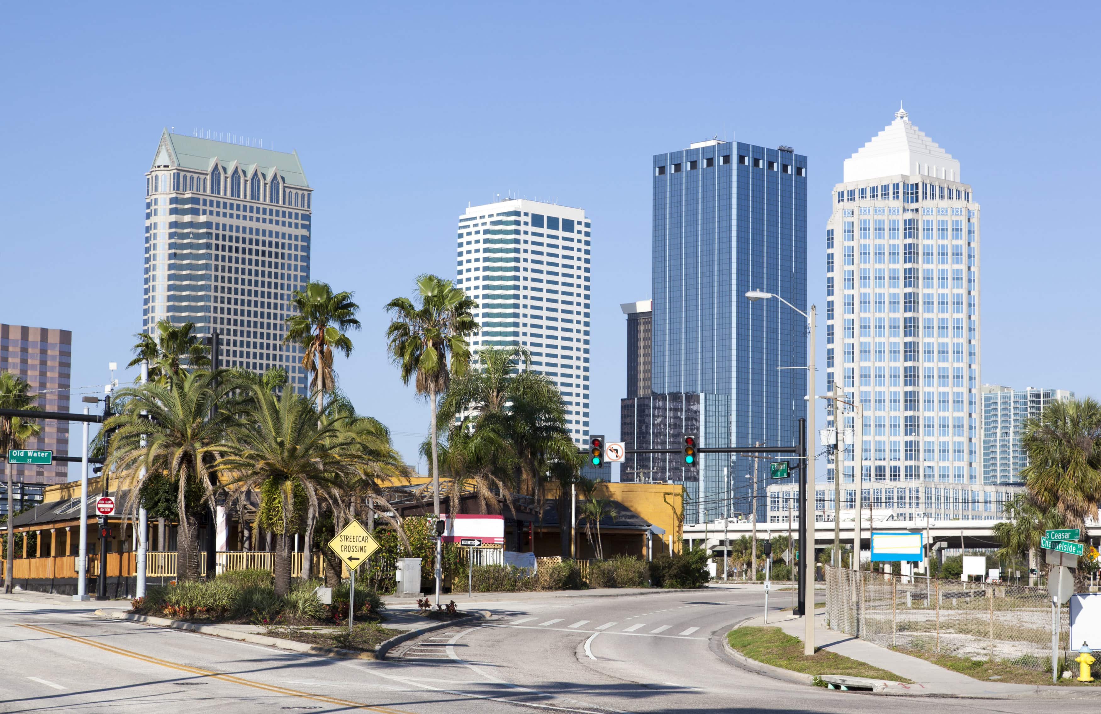 Tampa City Crossroad