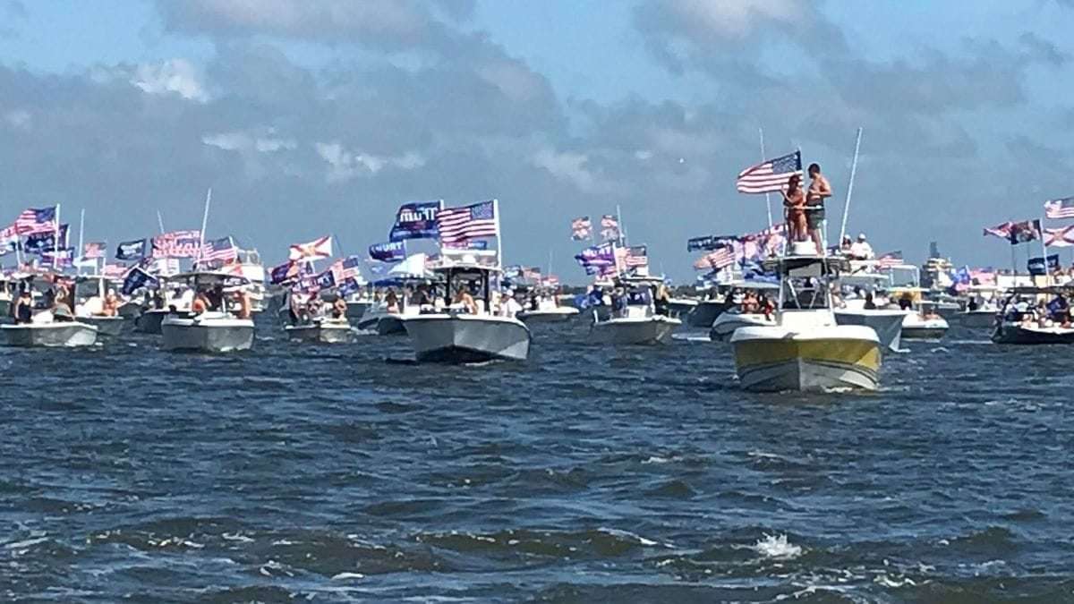 Boaters for Trump - Action News Jax