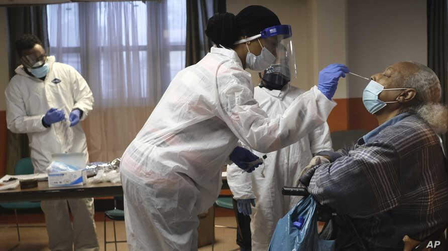 Virus Outbeak Nursing Homes