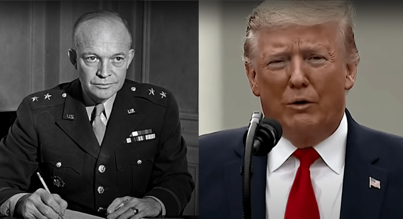Eisenhower Trump
