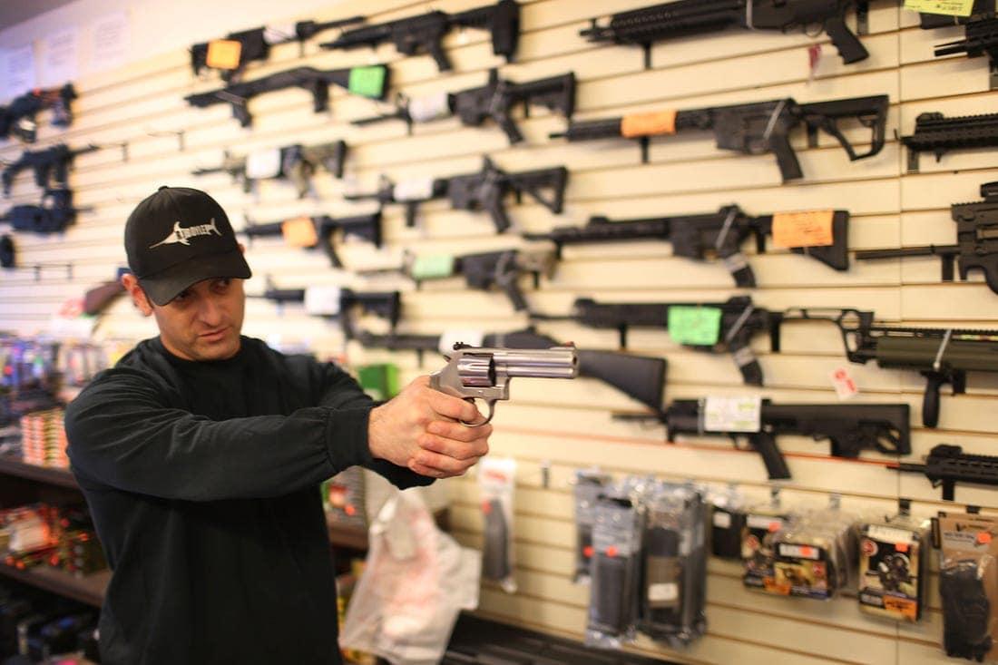 Floridians buying guns