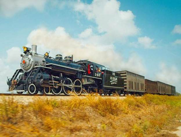 U.S. Sugar steam locomotive