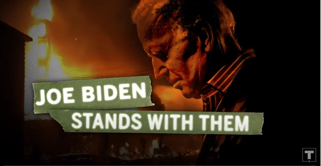 Joe Biden stands with them