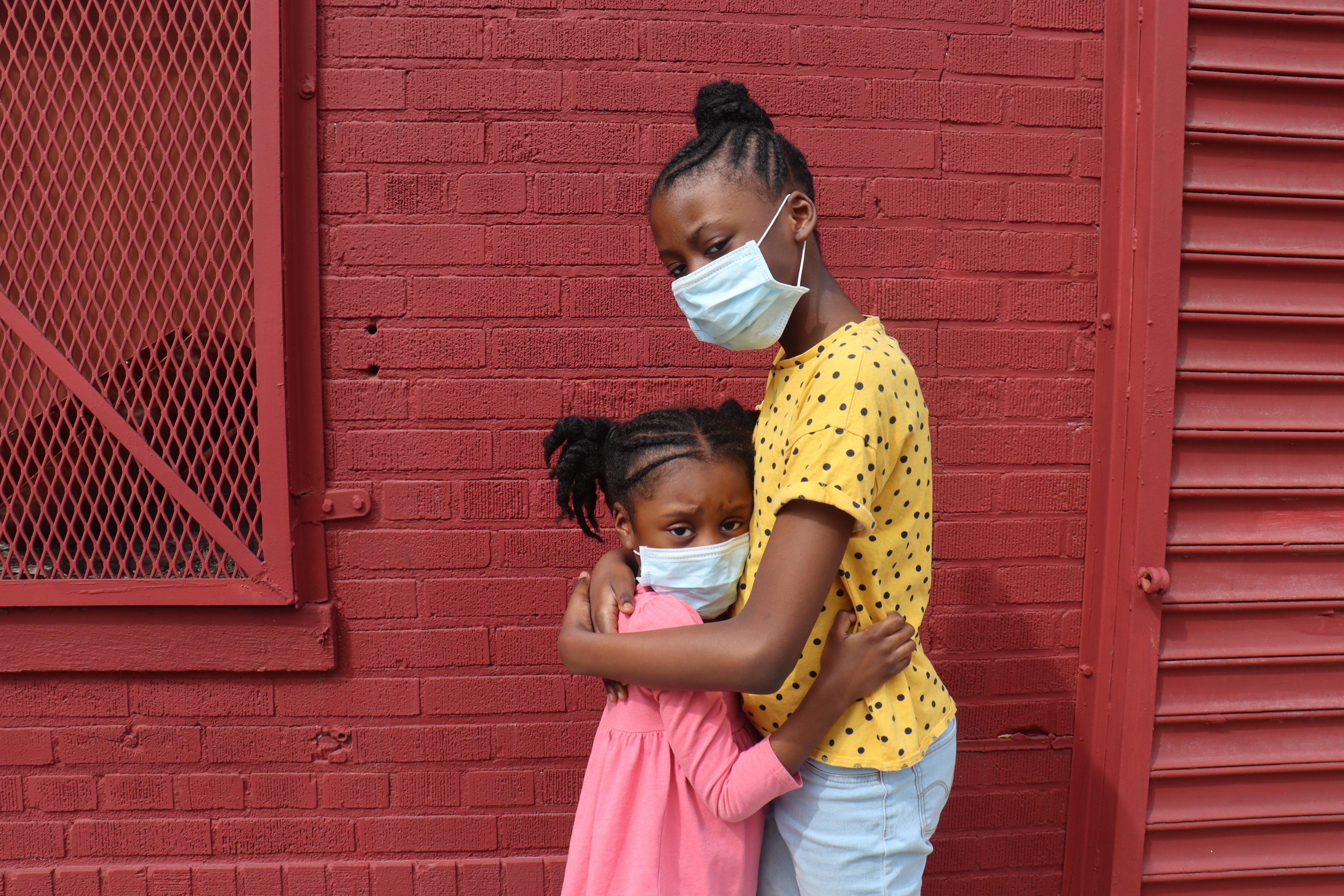 coronavirus african american kid