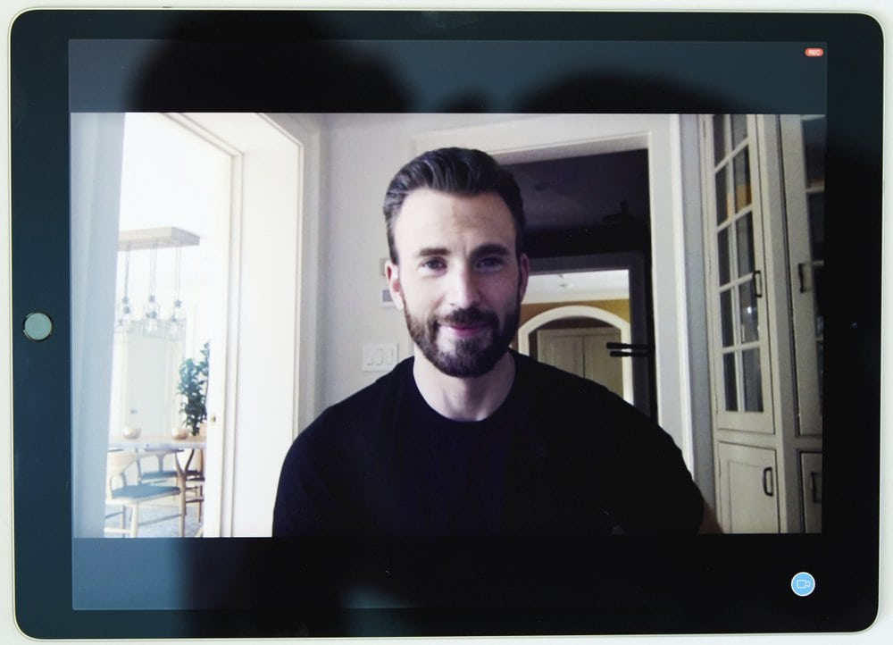 Chris Evans AP