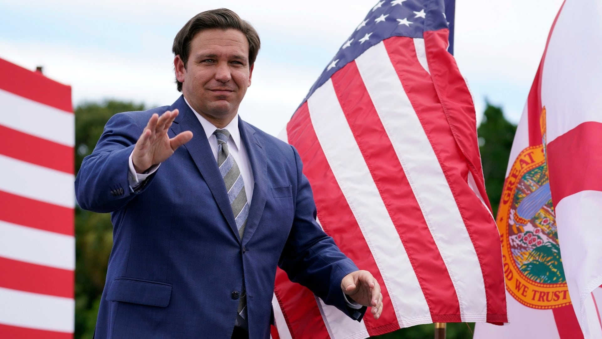 Amid strong GOP day-of turnout, Ron DeSantis says Democratic mail-in push  was a mistake