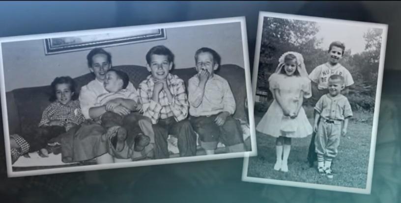 Joe Biden as a child