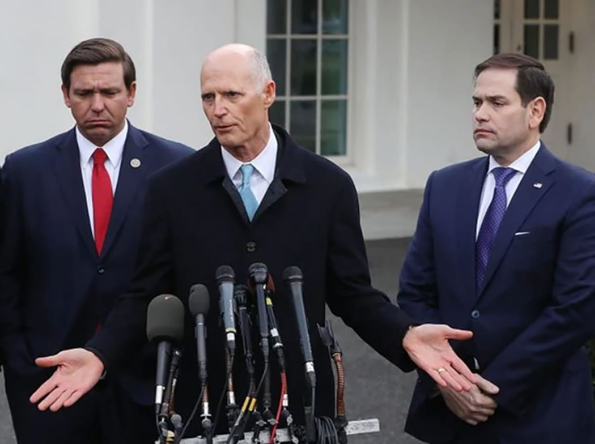 Trio Of Florida S Top Elected Republicans Suffer Negative Approval Ratings