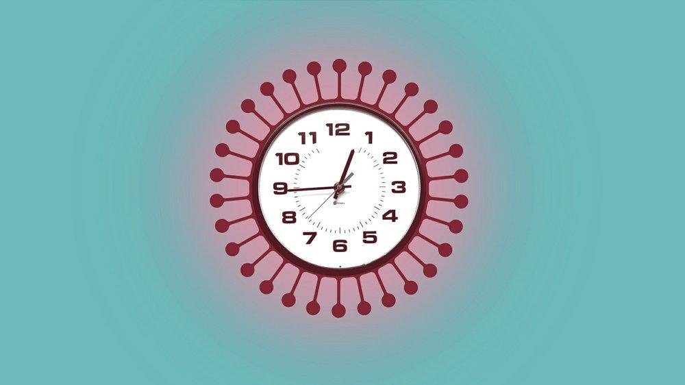 coronavirus clock
