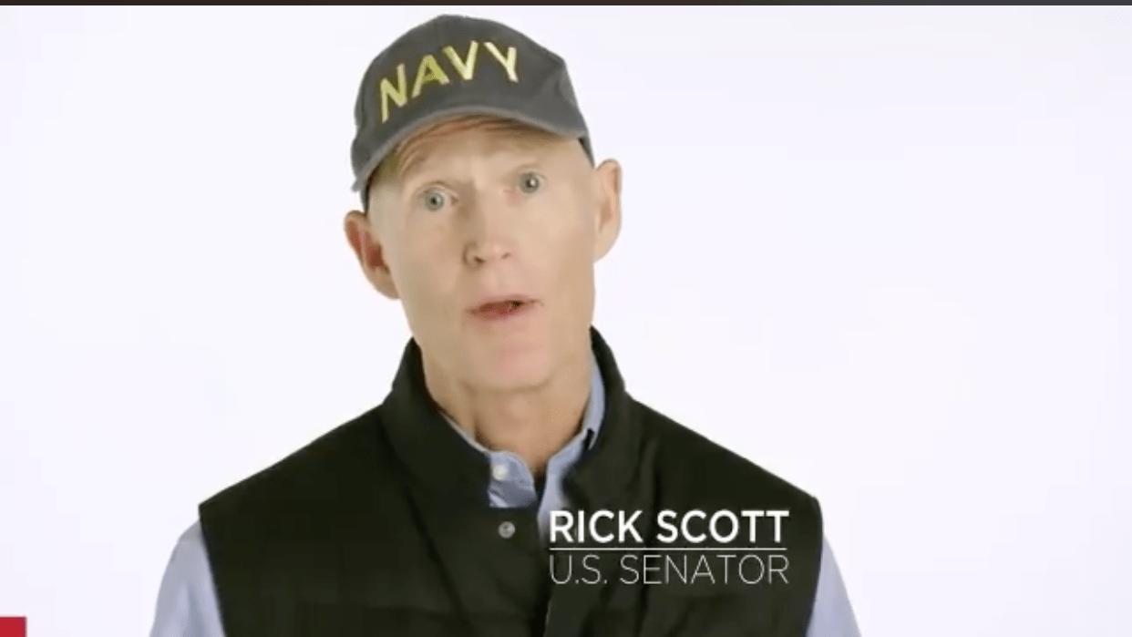 Rick Scott mad