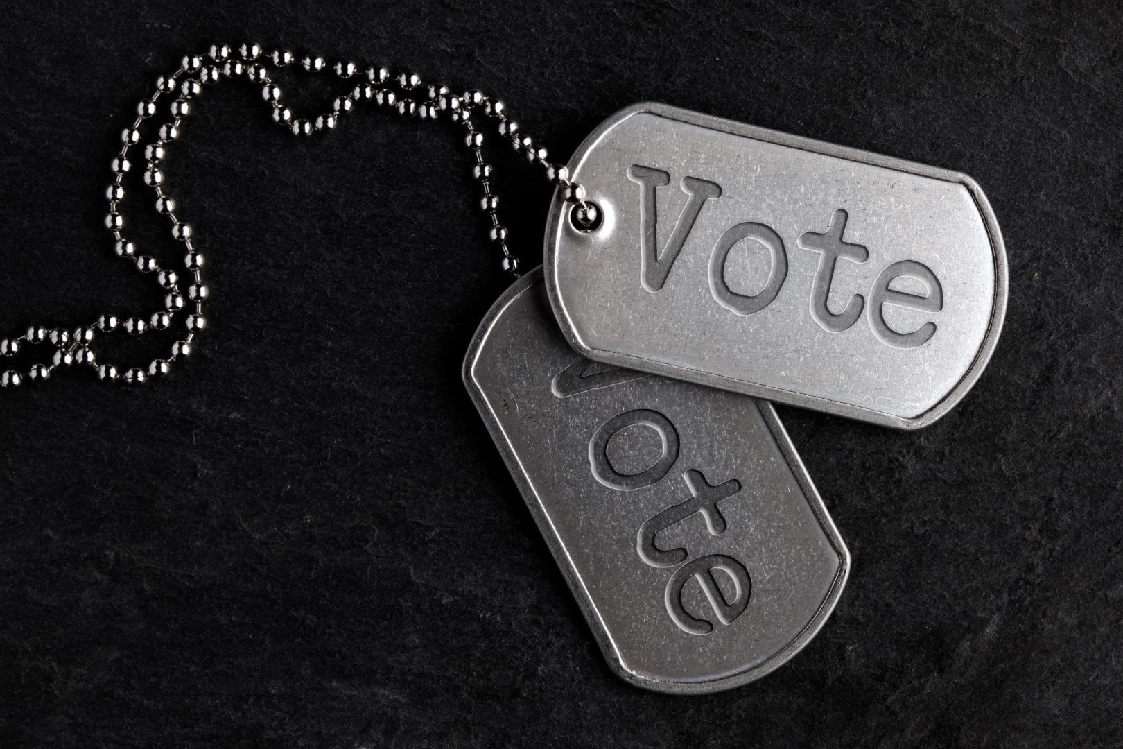 Old military dog tags - Vote