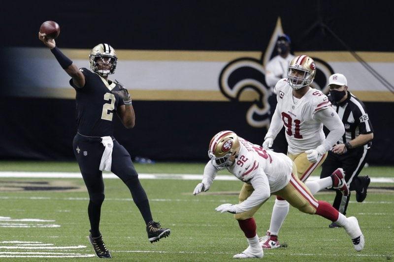 NFL New Orleans Saints San Francisco 49ers
