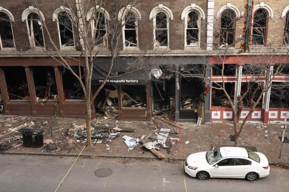 Nashville bombing scene