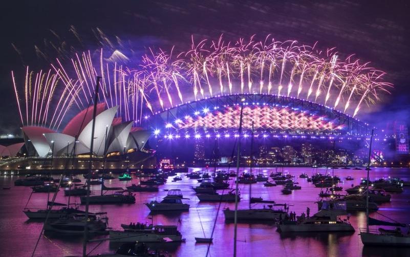 New Year's celebration i Australia