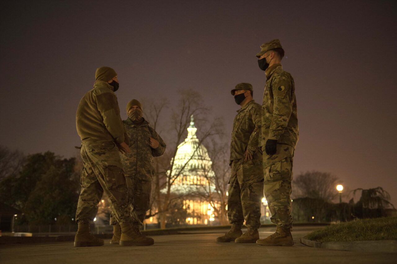 Virginia National Guard Soldiers support authorities in Washington, D.C.