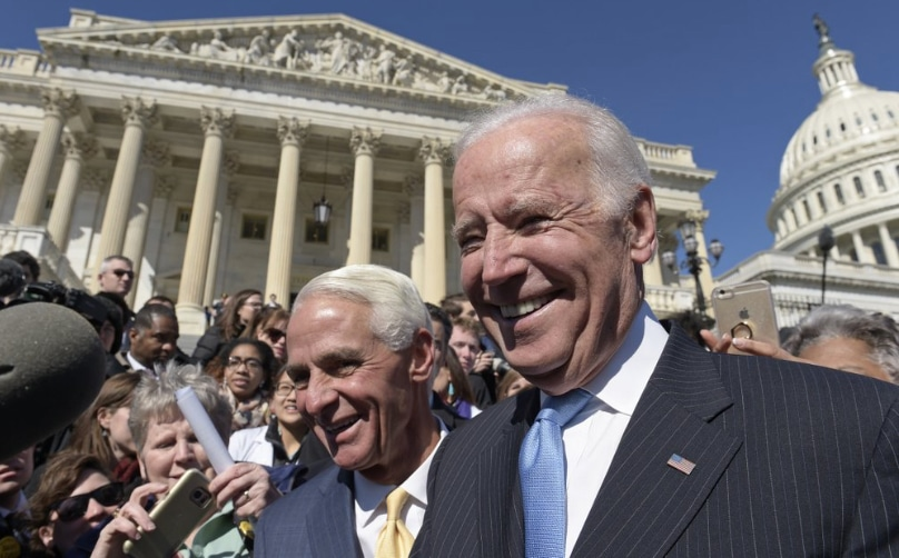 Charlie Crist and Joe Biden