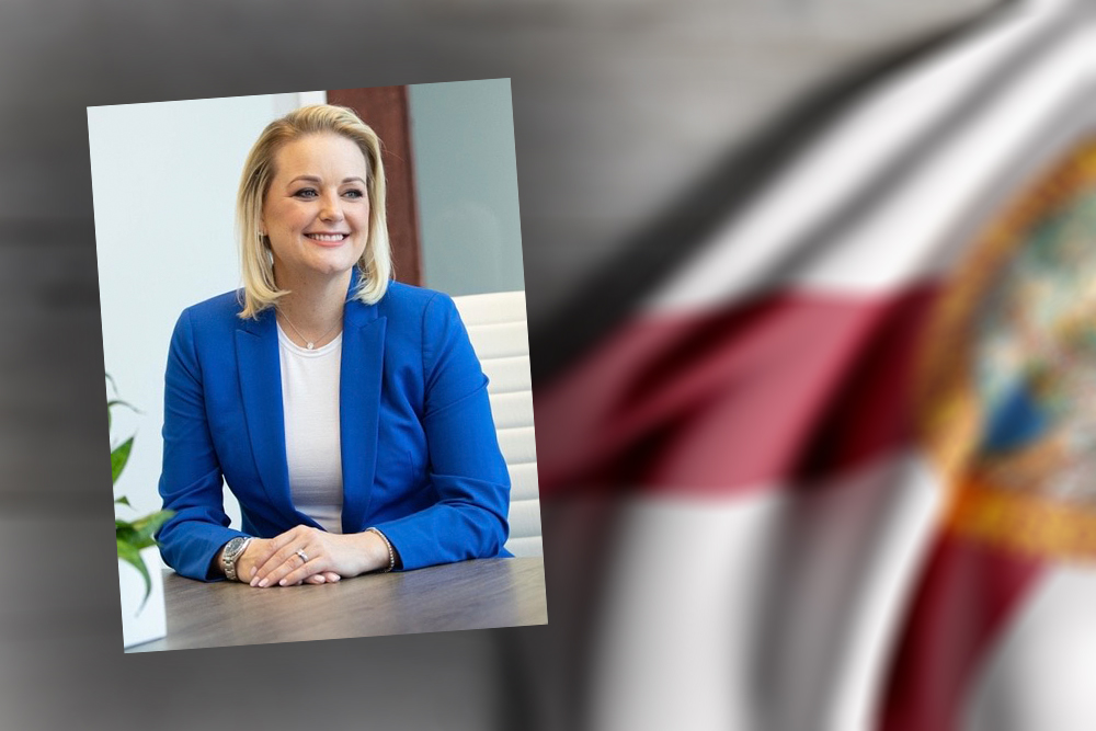 Hillary Cassel flag photo