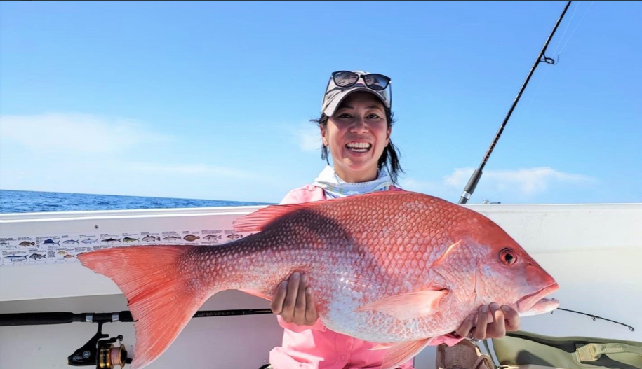 Stephanie Murphy and Red Snapper