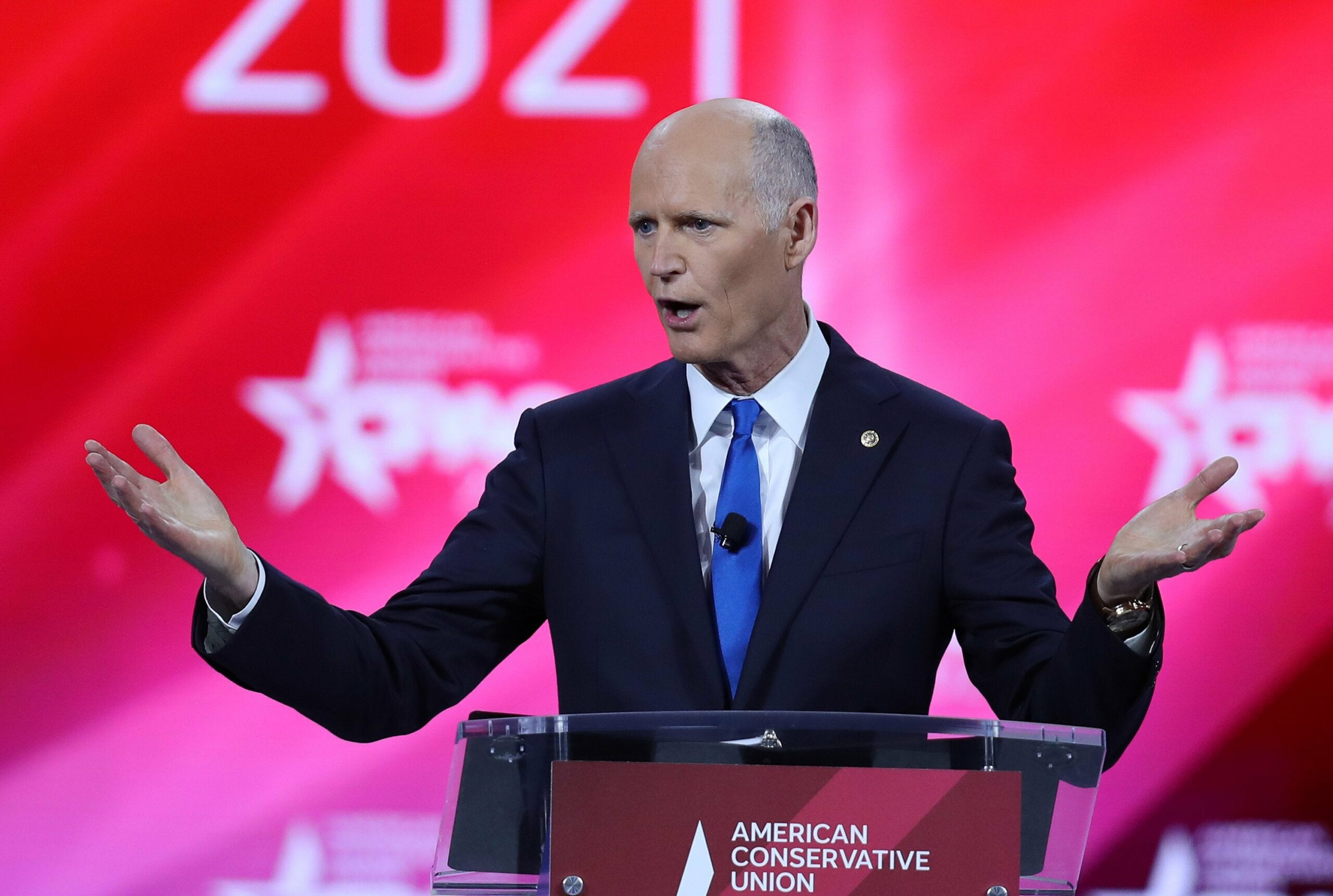 - rick scott scaled - No gridlock? — supercharged — fuzzy math — space race — women on top